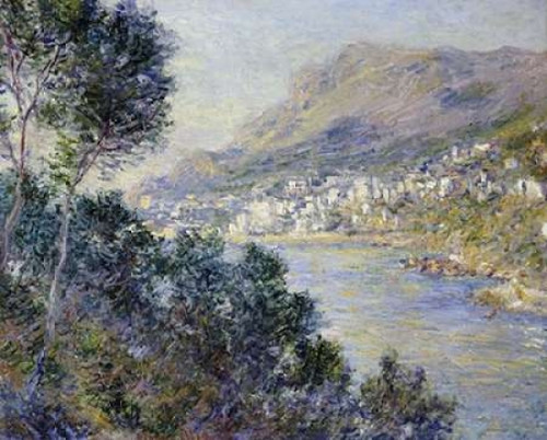 A View of Cape Martin Monte Carlo Poster Print by  Claude Monet - Item # VARPDX265190