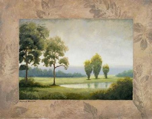 Green Land I Poster Print by Michael Marcon - Item # VARPDX7054