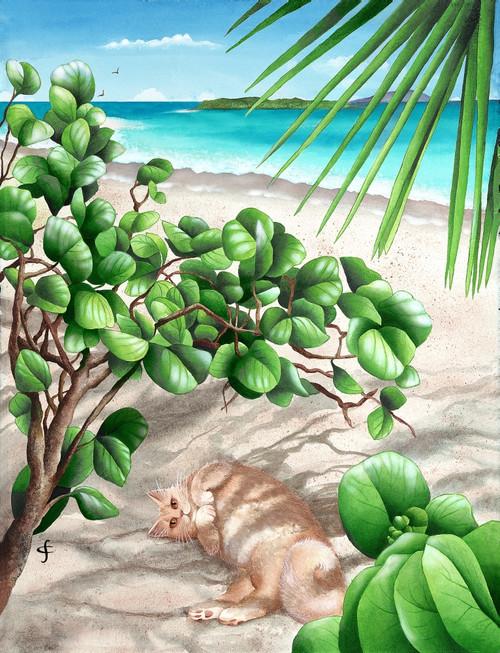 Jumby'S Beach Poster Print by Carolyn Steele - Item # VARMGL600579