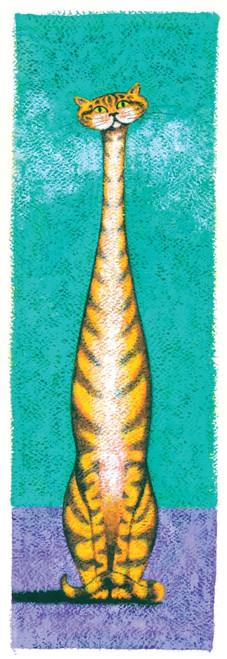 Tall Cat Tabby Poster Print by Brian James - Item # VARMGL600475