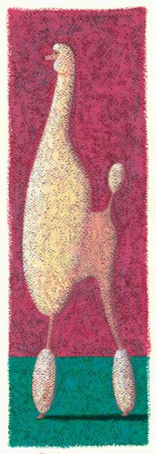 Tall Poodle Poster Print by Brian James - Item # VARMGL600171