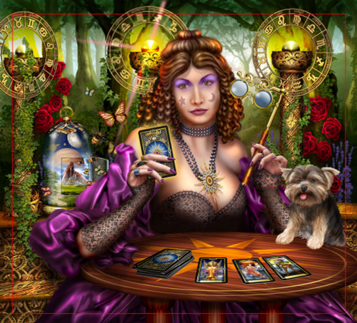 Reading The Gilded Tarot Poster Print by Ciro Marchetti - Item # VARMGL600605