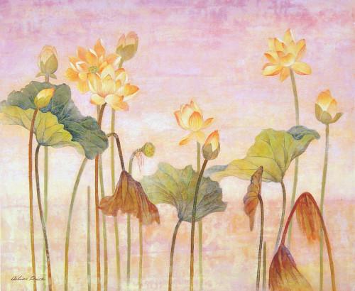 Yellow Lotus Poster Print by Ailian Price - Item # VARMGL600005
