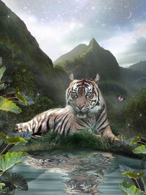 Mystic Tigress Poster Print by Alixandra Mullins - Item # VARMGL601879