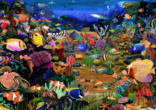 Coral Reef Poster Print by Gerald Newton - Item # VARMGL601592