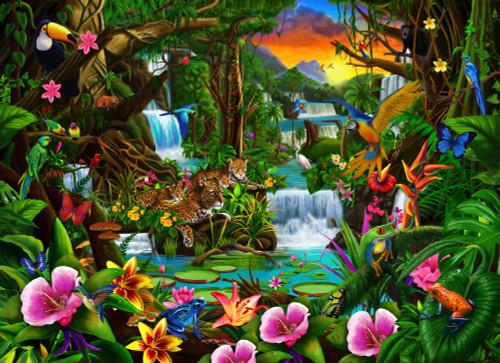Beautiful Rainforest Poster Print by Gerald Newton - Item # VARMGL601438