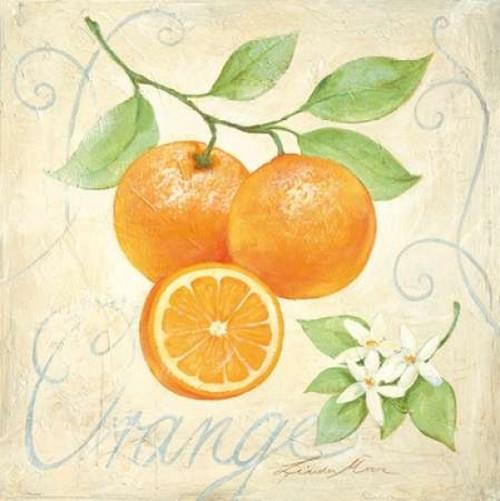 Orange Poster Print by Linda Moore - Item # VARPDX99225
