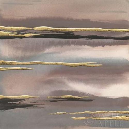 Gilded Morning Fog I Gold Poster Print by Chris Paschke - Item # VARPDX27428