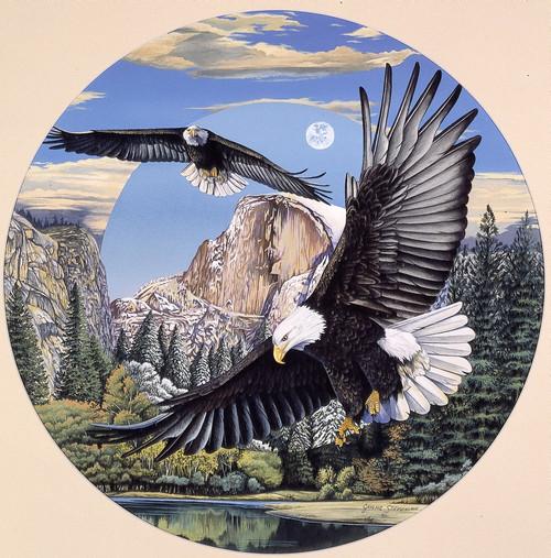 Yosemite valley Poster Print by Graeme Stevenson - Item # VARMGL601072