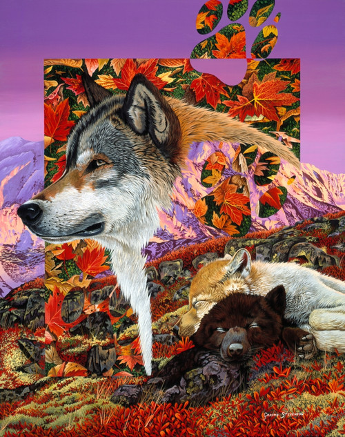 Alaska dreaming Poster Print by Graeme Stevenson - Item # VARMGL601694