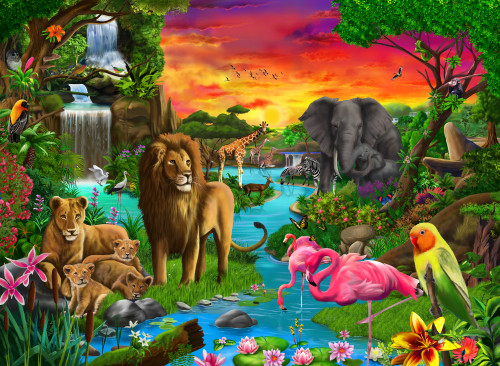 African Paradise Poster Print by Gerald Newton - Item # VARMGL601715