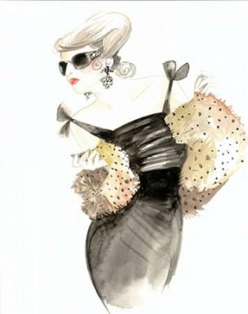 Runway Fashion III Poster Print by Laurencon - Item # VARPDXLCN031