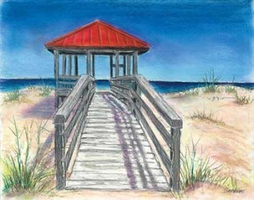Beach Cabana Poster Print by Todd Williams - Item # VARPDXTWM331