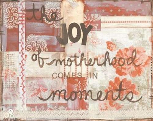Joy Of Motherhood Poster Print by Monica Martin - Item # VARPDXMTN179