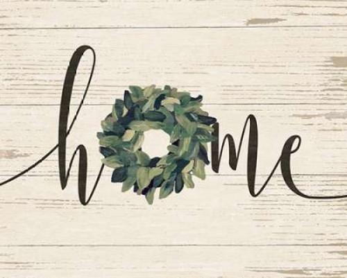 Home Wreath Poster Print by Jo Moulton - Item # VARPDXJM12575