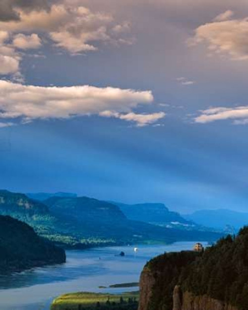 Columbia River Gorge VIII Poster Print by Ike Leahy - Item # VARPDXPSLHY249