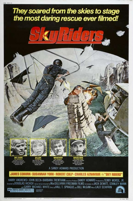 Sky Riders Movie Poster Print (27 x 40) - Item # MOVEH5303