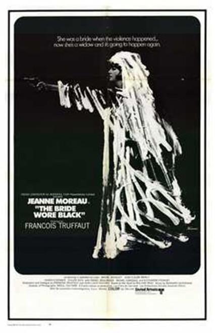 The Bride Wore Black Movie Poster (11 x 17) - Item # MOV216282