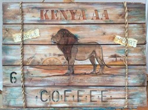 Kenya AA Coffee Poster Print by P.S. Art Studios - Item # VARPDXPL1142