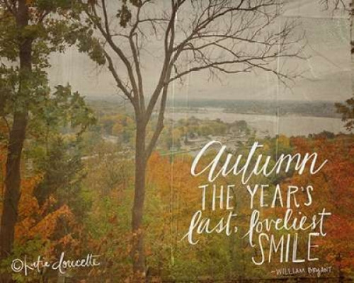 Autumn Poster Print by Katie Doucette - Item # VARPDXKA1605