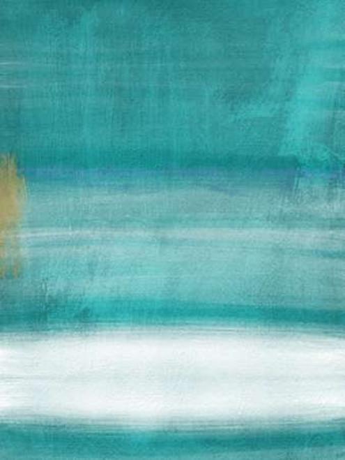 Blue Abstract II Poster Print by Linda Woods - Item # VARPDXLW3312