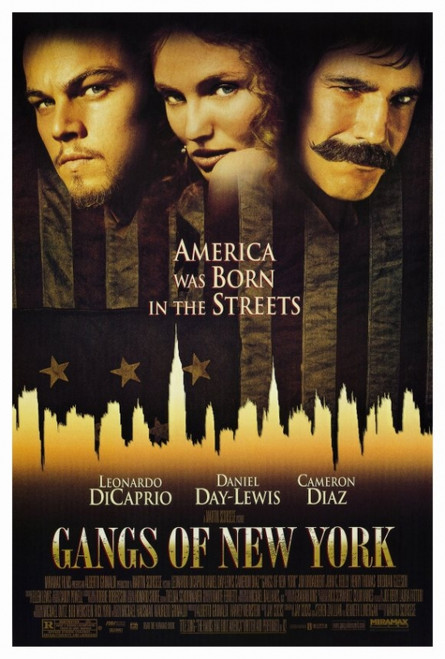 Gangs of New York Movie Poster Print (27 x 40) - Item # MOVEF8404