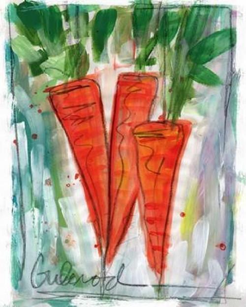 Carrots Poster Print by Linda Woods - Item # VARPDXLW3222
