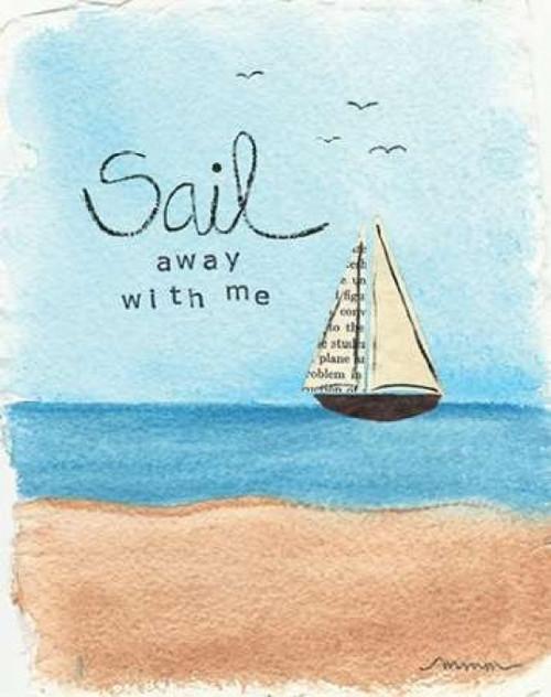 Sail Away Poster Print by Monica Martin - Item # VARPDXMTN154