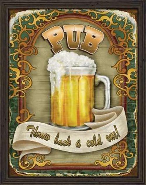Neighborhood Pub Poster Print by Ninette Parisi - Item # VARPDXPRS109