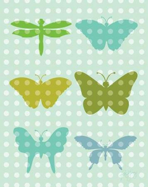 Butterflies I Poster Print by Patty Young - Item # VARPDXYNG106