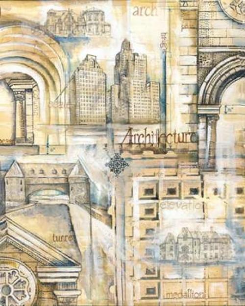 Architectural Remnants Poster Print by Margaret Ferry - Item # VARPDXMFY145