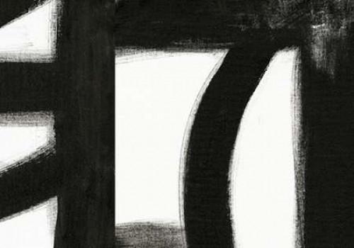 Black and White V Poster Print by Sarah Ogren - Item # VARPDXSO1346
