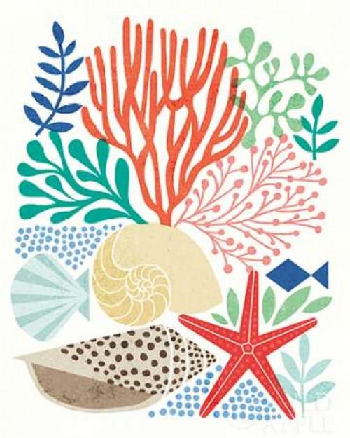 Under Sea Treasures VI Poster Print by Michael Mullan - Item # VARPDX23221