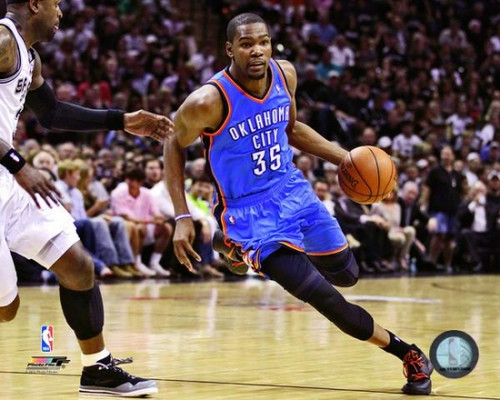 Kevin Durant 2011-12 Playoff Action Photo Print - Item # VARPFSAAOY224