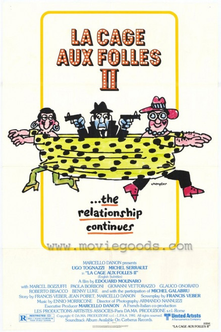 La Cage aux Folles 2 Movie Poster Print (27 x 40) - Item # MOVAH2633