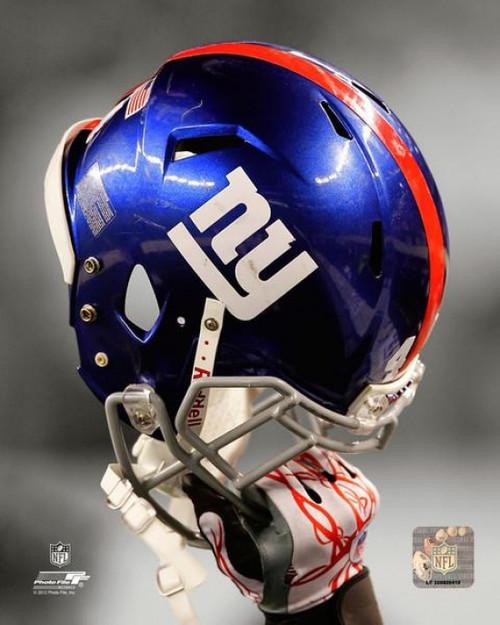 New York Giants Helmet Spotlight Photo Print - Item # VARPFSAAPC194