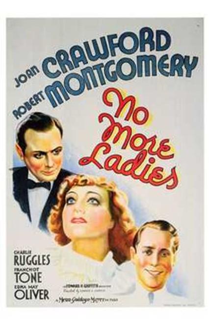 No More Ladies Movie Poster (11 x 17) - Item # MOV196699