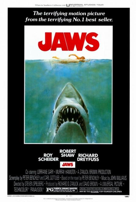 Jaws Movie Poster Print (27 x 40) - Item # MOVAF5281