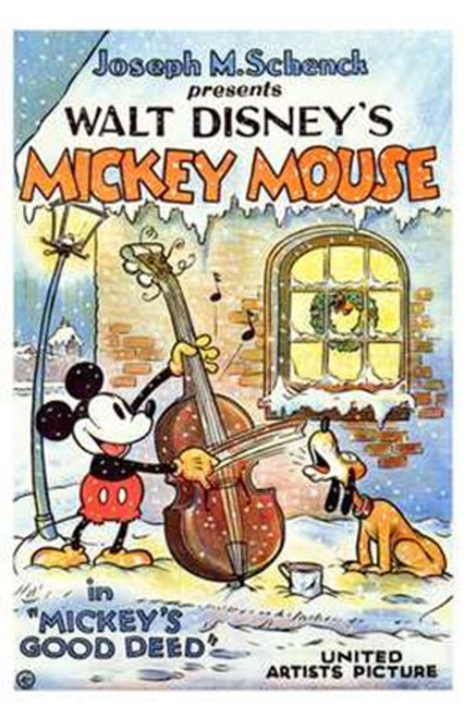 Mickey's Good Deed Movie Poster (11 x 17) - Item # MOV197768