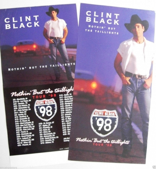 Clint Black Nothin' but the Taillights Poster - Item # RAR9992476