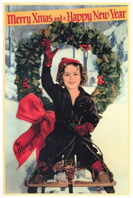 Shirley Temple Christmas Greeting Movie Poster Print (27 x 40) - Item # MOVIF2172