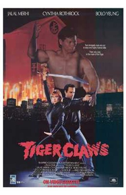Tiger Claws Movie Poster (11 x 17) - Item # MOV210056