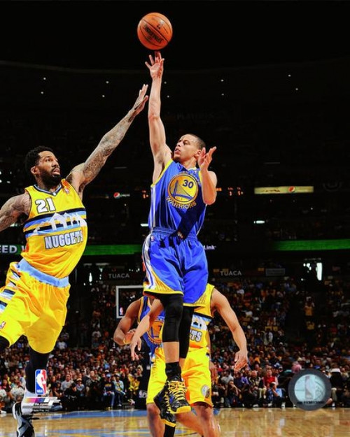 Stephen Curry 2012-13 Playoff Action Photo Print - Item # VARPFSAAPX032