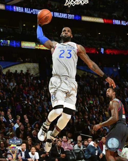 Lebron James 2017 NBA All-Star Game Photo Print - Item # VARPFSAATV149