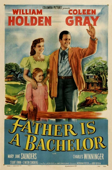 Father Is a Bachelor Movie Poster Print (27 x 40) - Item # MOVGJ6175