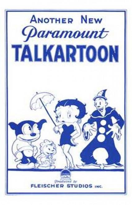 Talkartoon Movie Poster (11 x 17) - Item # MOV143102