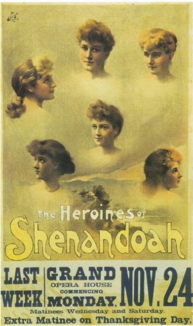The (Broadway) Heroines Of Shenandoah Movie Poster (11 x 17) - Item # MOV407582
