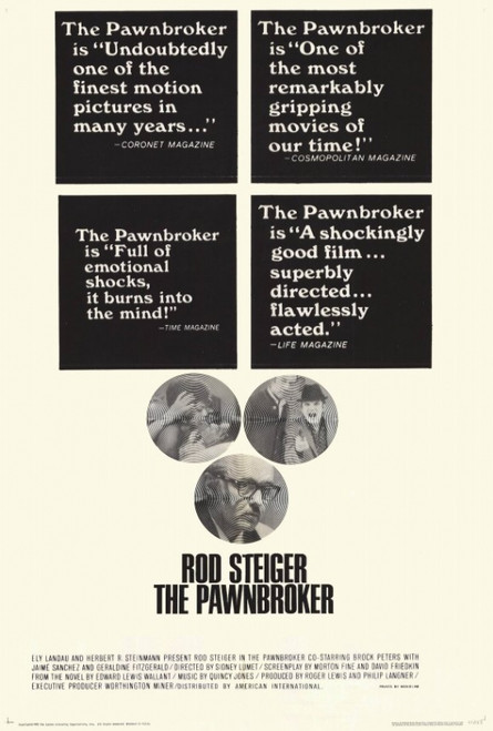 The Pawnbroker Movie Poster Print (27 x 40) - Item # MOVGF6423