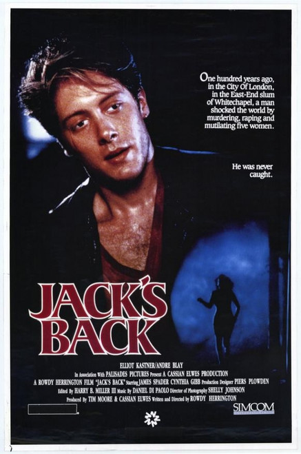 Jack's Back Movie Poster Print (27 x 40) - Item # MOVEH0721