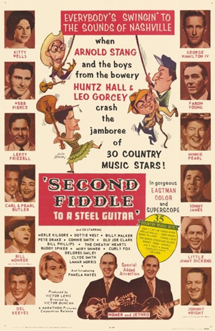 Second Fiddle to a Steel Guitar Movie Poster (11 x 17) - Item # MOV254540